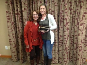 Susan Renning & Shawna Rader Kelly (2nd Generation School Psychologist and MASP's 2015 School Psychologist of the Year)